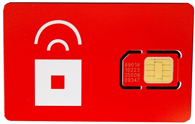 Red Pocket SIM Card (USA)