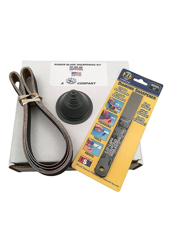 Amazon.com: Lawn Mower Blade Sharpening Kit para amoladora ...