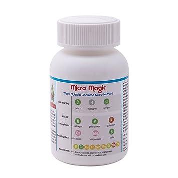 Micro mezcla de nutrientes para plantas contiene totalmente chelated hierro Zinc Magnesio Boro molibdeno manganeso cobre y azufre: Amazon.es: Hogar