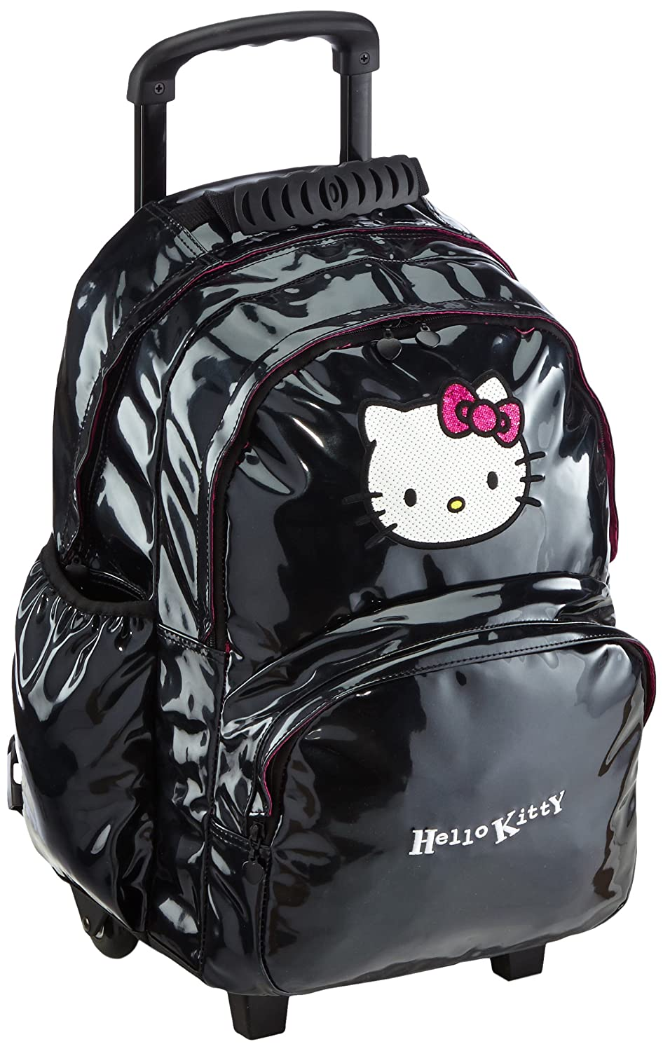 Hello Kitty Sac Classic Dots Sac A Dos 2 Compartiments Trolley Hello Kitty Solde fdPJBIMqo5