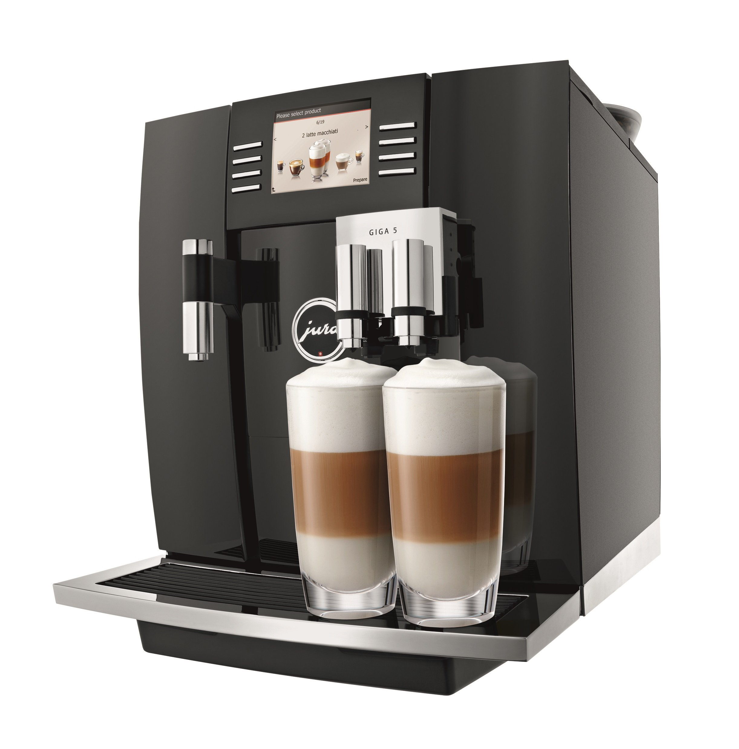 Jura 15066 Automatic Coffee Machine Giga 5, Piano Black by Jura (Image #1)