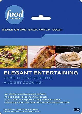 Amazon food network meals on dvd shop watch cook elegant food network meals on dvd shop watch cook elegant entertaining forumfinder Choice Image