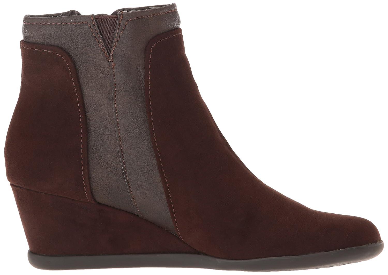 Aerosoles Women's Outfit Boot B00XD59DDO 9 B(M) US|Brown Fabric