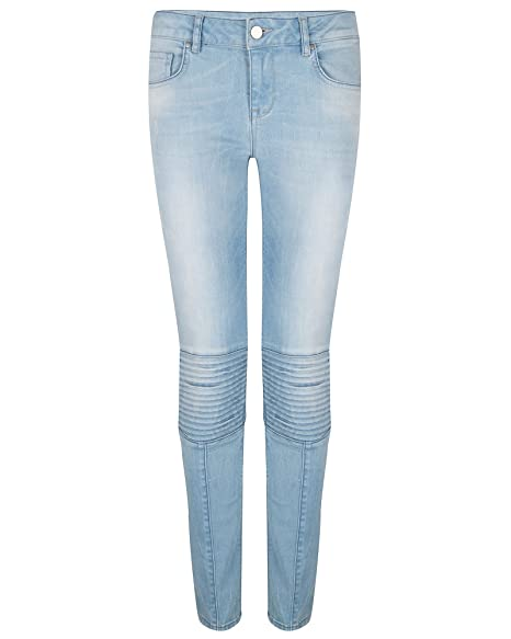 Amazon.com: Supertrash Mujer s Paradise costura Jeans ...