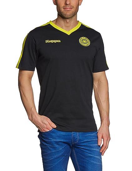 Kappa - Camiseta de fútbol sala, tamaño XXL, color negro: Amazon.es: Deportes y aire libre