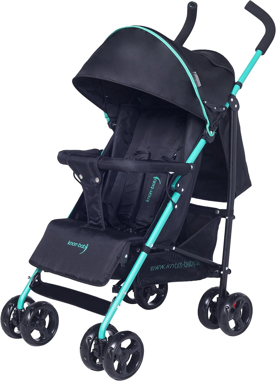 Knorr-baby 848001/Buggy Styler con cubierta color negro y verde