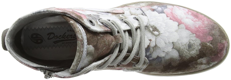 Dockers by by Dockers Gerli Damen 35iz223-777769 Stiefeletten Pink (Rosa/Multi 769) 733716