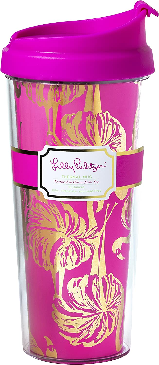 Lilly Pulitzer Thermal Mug, Gimme Some Leg