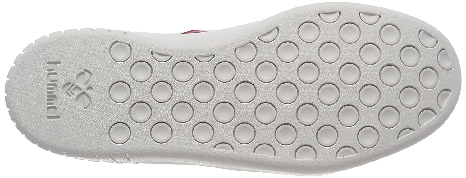 ad6536d5e78 Amazon.com: Hummel Women's Aarhus Classic Low Trainers, White (White/Peacoat /Fiery Red 9824), 7.5 UK: Shoes