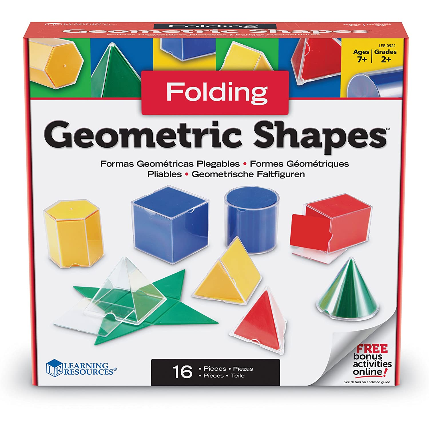 Amazon Learning Resources Folding Geometric Shapes fice Products