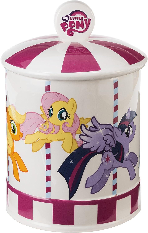 Vandor My Little Pony Ceramic Cookie Jar, Multicolored