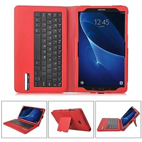 custodia tablet samsung tab e 9.6 con tastiera