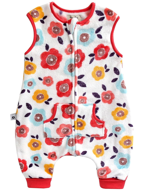 VAENAIT BABY 1-7Y Ultra Soft Plush Fleece Kids Girls Wearable Blanket Sleeper