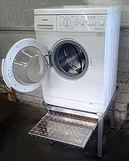 Neu Montiert Unterbausockel Mit Schublade Fur Waschmaschinen Und