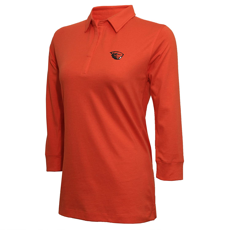NCAA Womens NCAA Women's Campus Specialties 3 4 Sleeve Jersey Polo