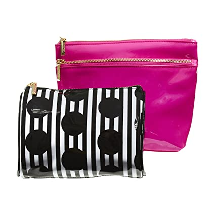 Amazon.com: Cosmopolitan maquillaje bolsas para mujeres ...