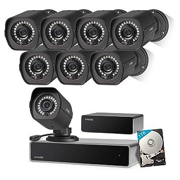 81Ty5TQDnDL._SY355_ amazon com zmodo full hd 1080p simplified poe security camera