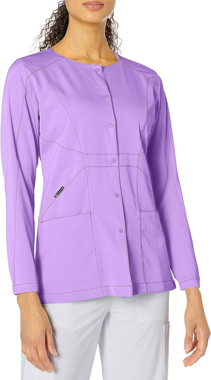 WonderWink Hp Prism Snap Front Women's Scrub Jacket