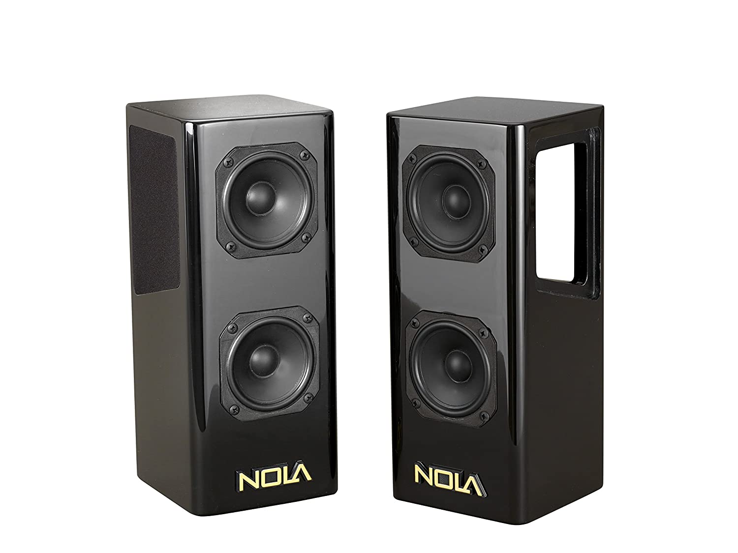 want recommendations for small 2 way speakers and powered sub