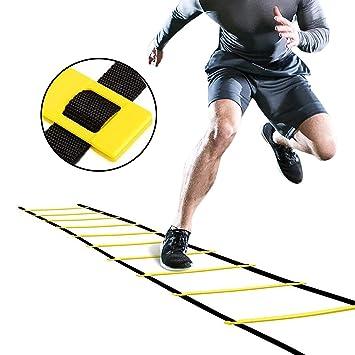 JYxlj Speed Training Agility Ladder para Fútbol/Baloncesto ...