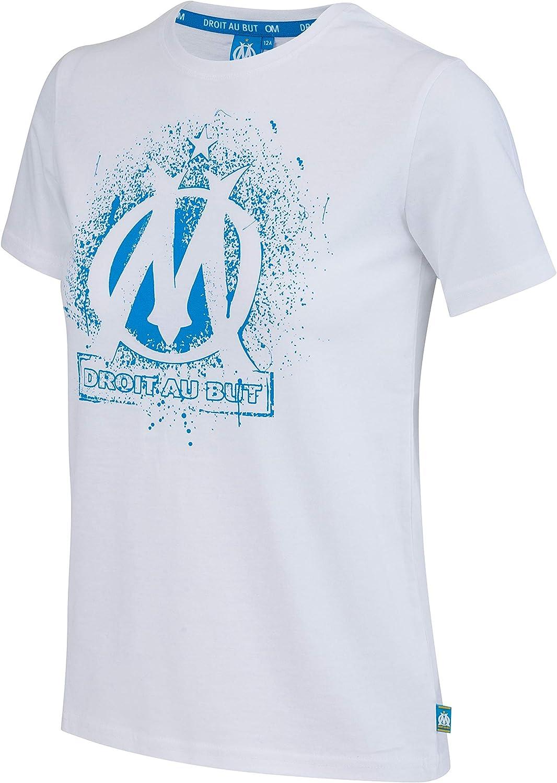 Collection Officielle Taille Enfant gar/çon OLYMPIQUE DE MARSEILLE T-Shirt Om