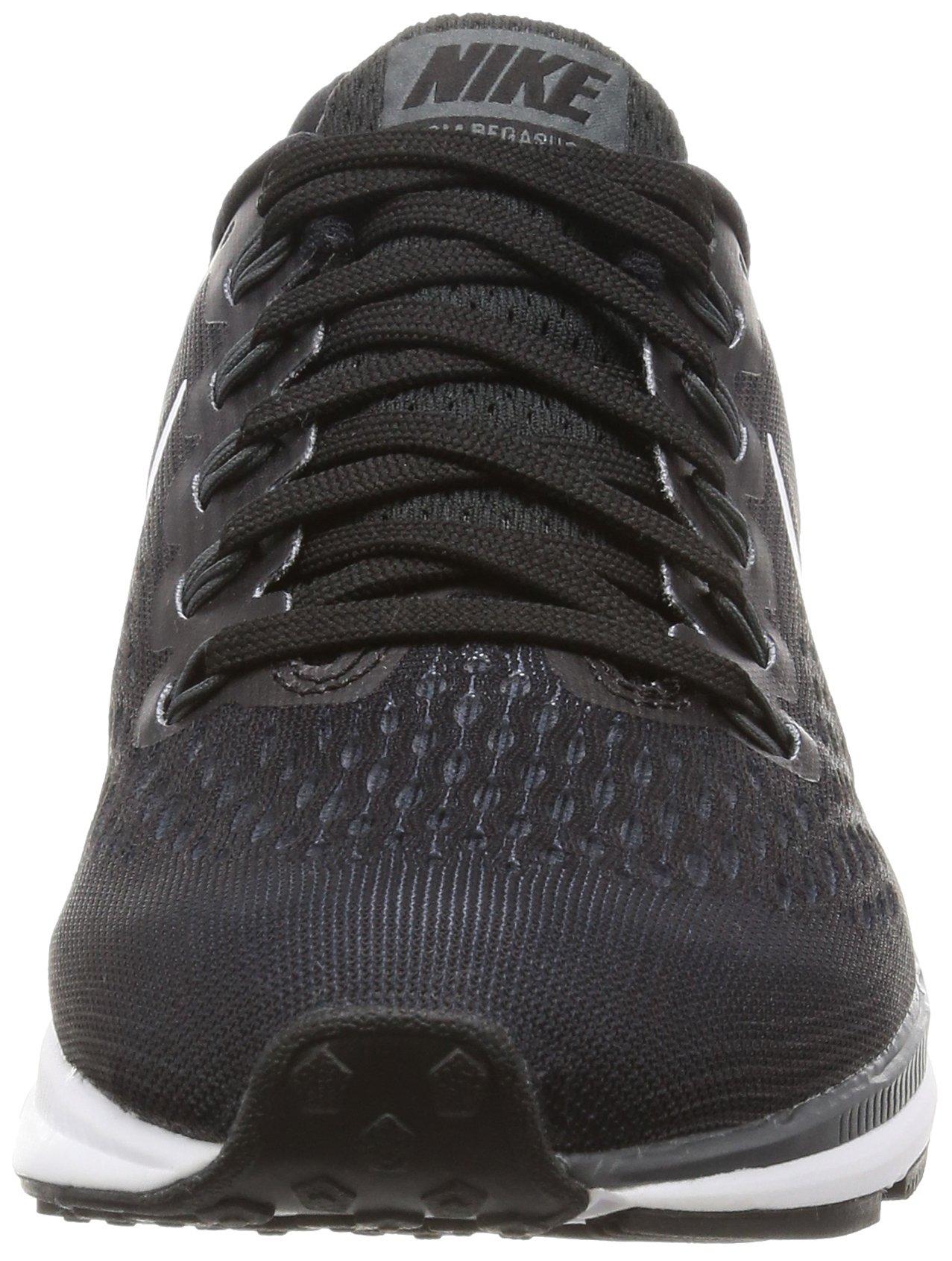 Nike Womens Air Zoom Pegasus 34 Black/White/Dark Grey/Anthracite Running Shoes (6) by Nike (Image #4)