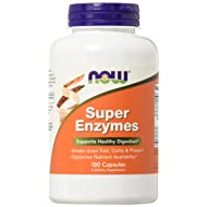 NOW Foods Super Enzymes, 180 Capsules by Now Foods