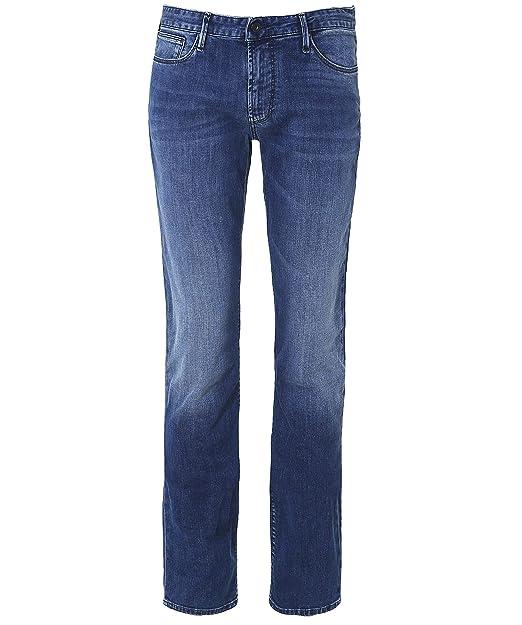4626ad1d0d9e Emporio Armani Jeans Jean Homme blu  Amazon.fr  Vêtements et accessoires