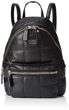 Guess - Urban Sport Sml Leeza Backpack, Mujer, Negro (Nero), 22x29x10