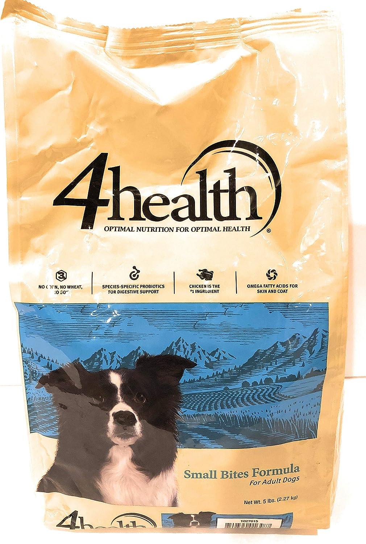 4health Tractor Supply Company, Small Bites Formula, Adult Dog Food, Dry, 5 lb. Bag