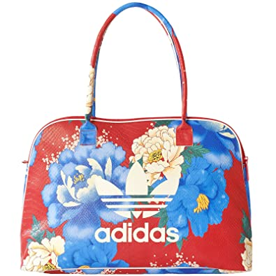 9a5ea7d1f9 adidas Originals Unisex Trefoil Allover Floral Shopper Bag  Amazon.co.uk   Shoes   Bags