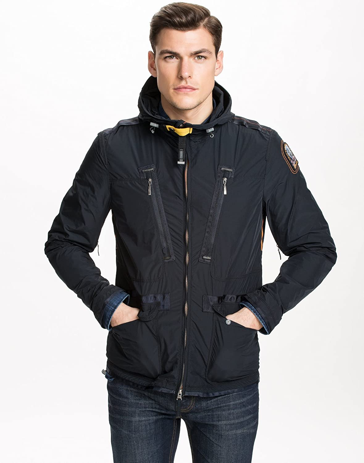 parajumpers echo flyweight jacket blue/black