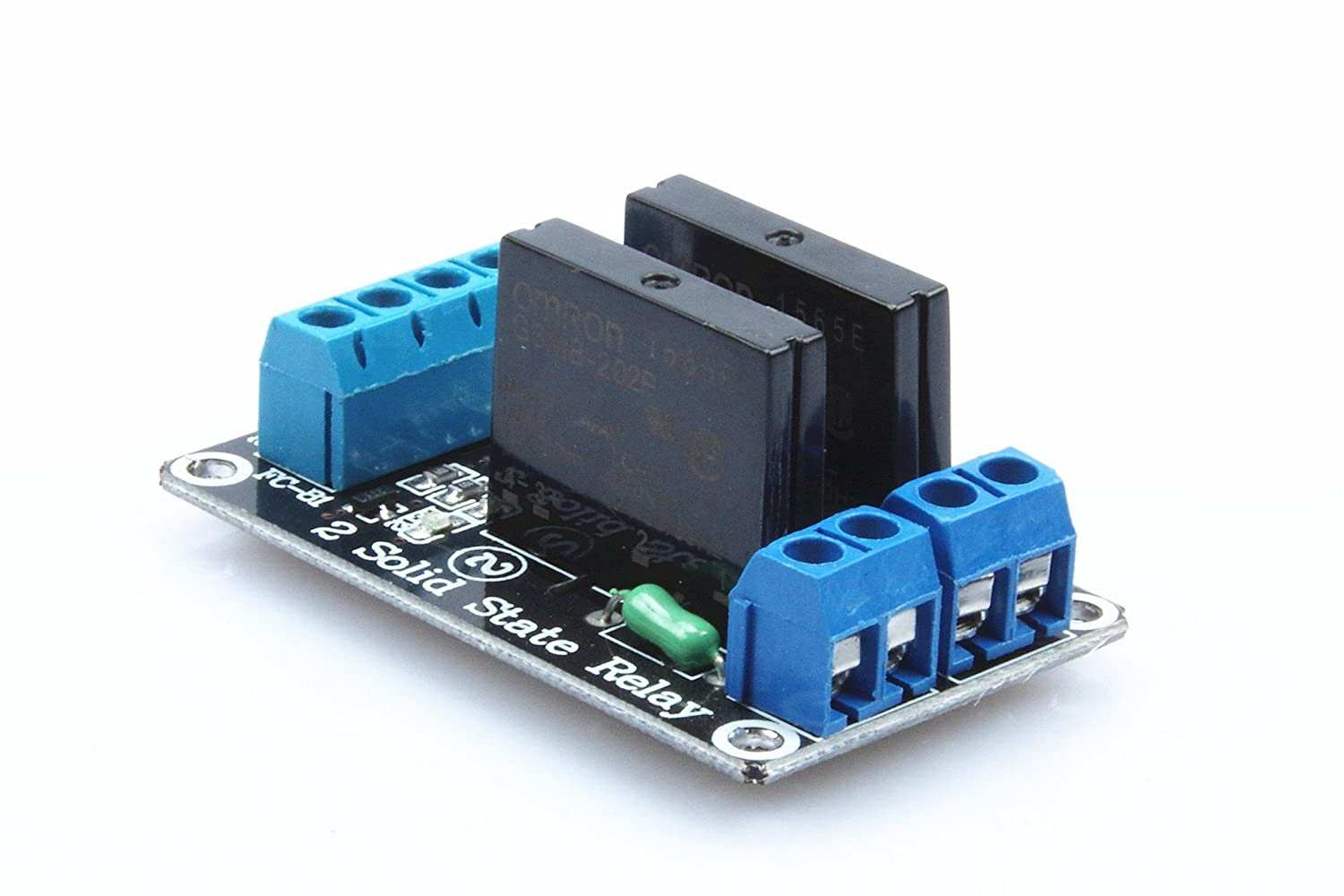 Knacro 12v 2 Way Low Level Solid State Relay Modules Transistors Equivalent Circuit Of A Electrical Relays With Fuse 240v 2a Trigger Home Audio Theater