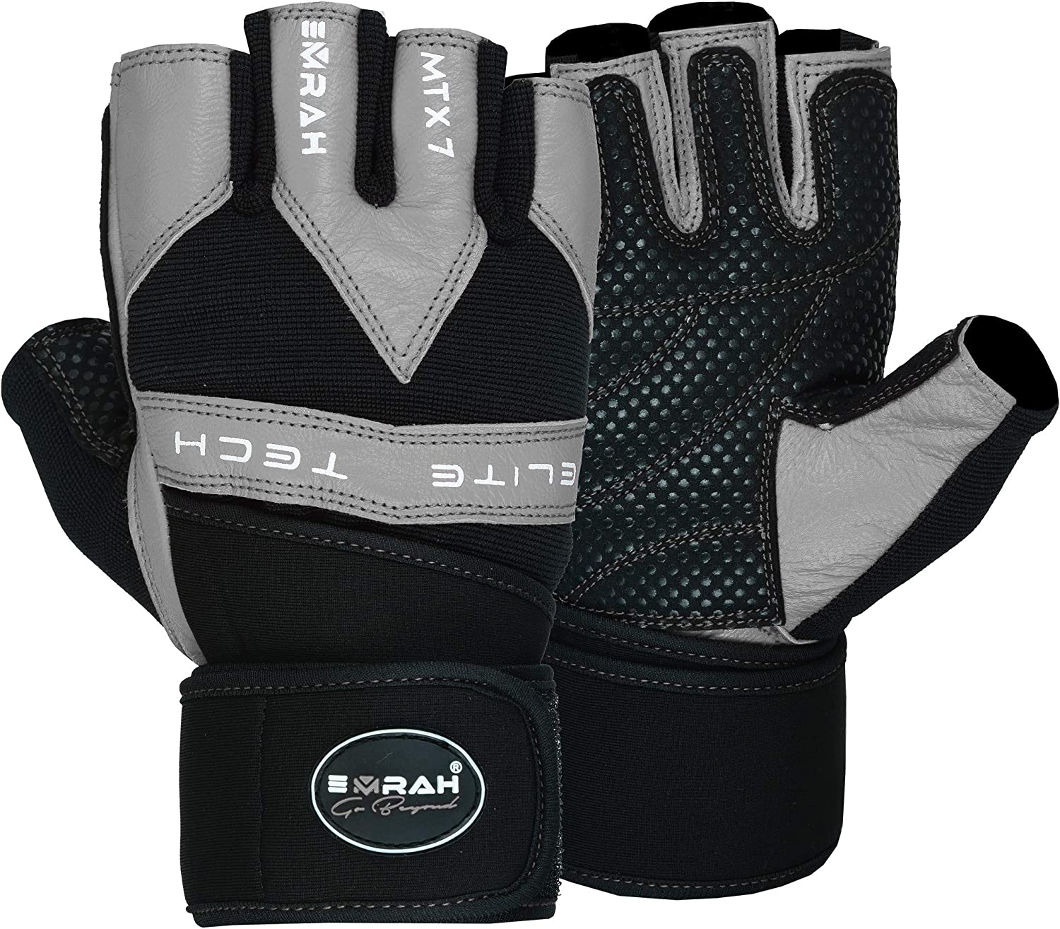 EMRAH Weight Lifting Gloves Training Fitness Exercise Gym Workout