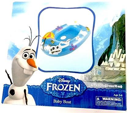 Amazon.com: Disney Olaf de Frozen bote para bebé, flotador ...