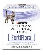 Purina Fortiflora Nutritional Supplement for Cats (Pack of 6)