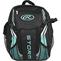 Rawlings Storm Girls Youth Softball Bat Bag- Backpack for T-Ball & Softball Equipment & Gear for Youth and Adults