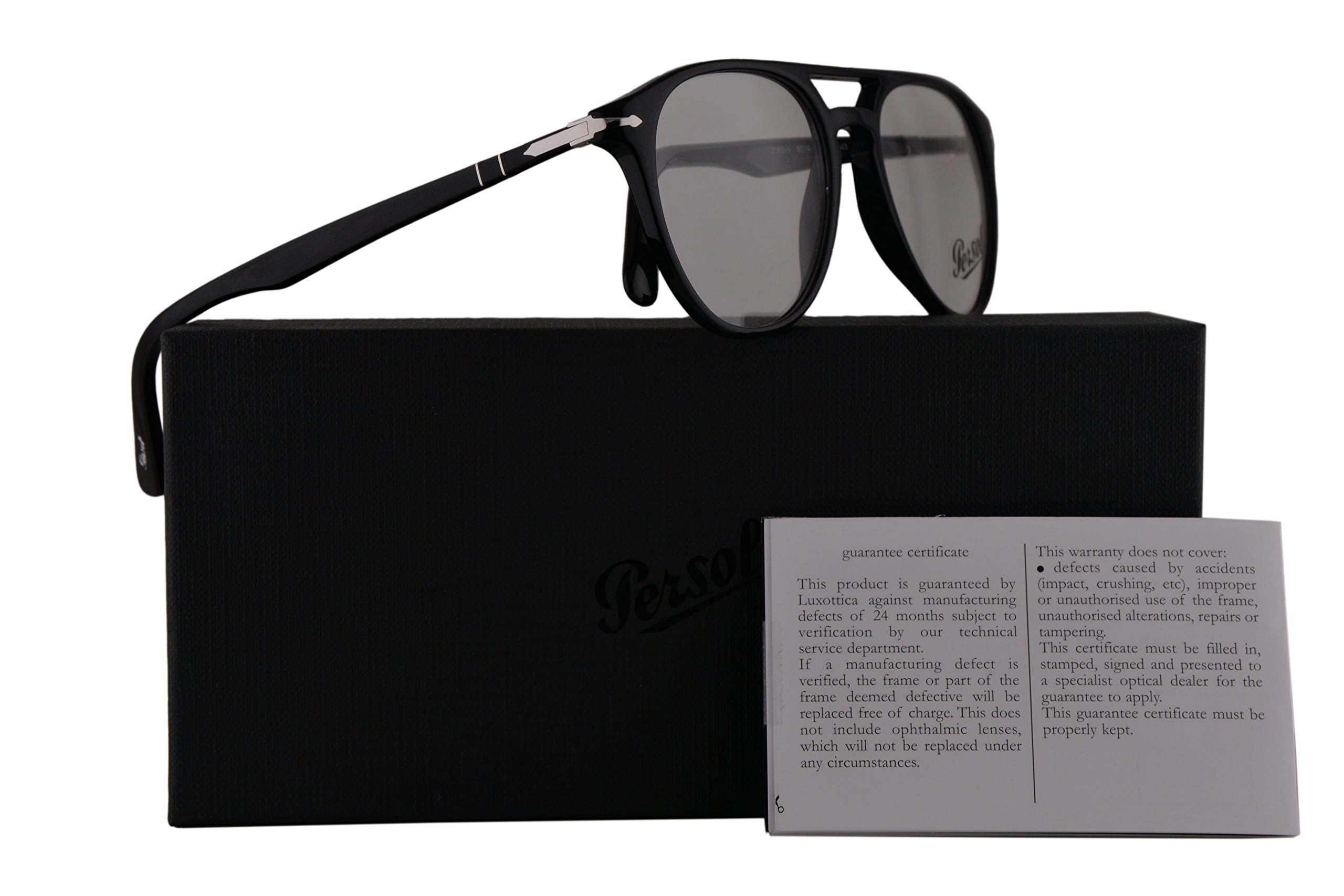 Persol PO3160V Eyeglasses 52-18-145 Light Brown Havana w/Demo Clear Lens 9041 PO 3160-V PO3160-V PO 3160V by Persol