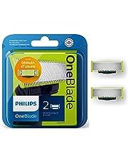 Philips Norelco OneBlade QP220/50 2 x Lames de Rechange