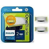 Philips QP220/50 - Lames de remplacement x2 OneBlade (durent jusqu'à 8 mois)