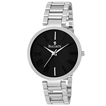 6ef23d7b72 Buy Buccachi Analogue Black Round Dial Watch for Women's (B-L1039-BK ...