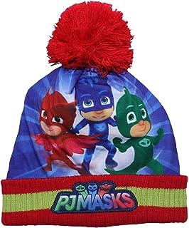 PJ Masks 2200002562 Children s Winter Set Includes Beanie Bobble Hat ... cebd439aad55