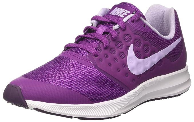 50110d88aeb4 Nike Kids Downshifter 7 Big Kid Night Purple Violet Mist Bold Berry Girls  Shoes