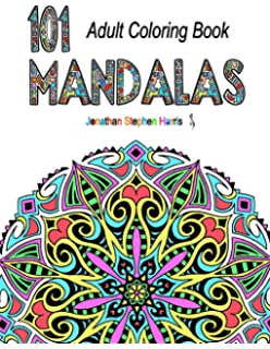 Mandala Coloring Book Over 100 Unique Beautiful Stress Relieving Pattern Designs For Adult Relaxation