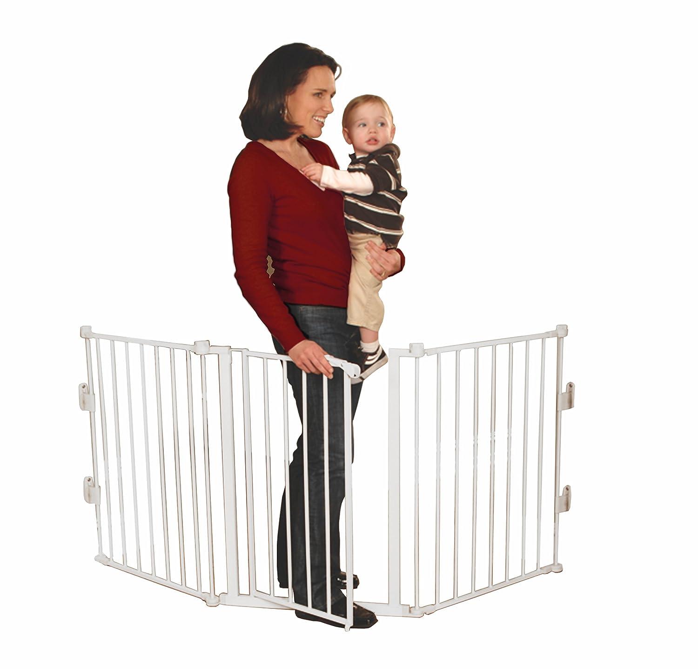 Barrera de seguridad para ni os y beb s ajustable 1 9m - Barrera para ninos ...