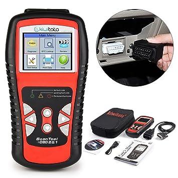 Vehicle Code Reader >> Kiwitata Obd2 Car Diagnostic Scanner Professional Obd Ii Vehicle Code Reader Auto Check Engine Light Scan Tool