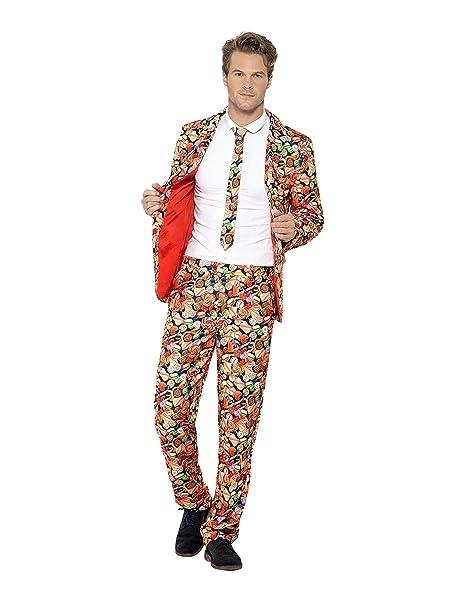 Amazon.com: Smiffys 43436 - Traje para hombre, chaqueta ...