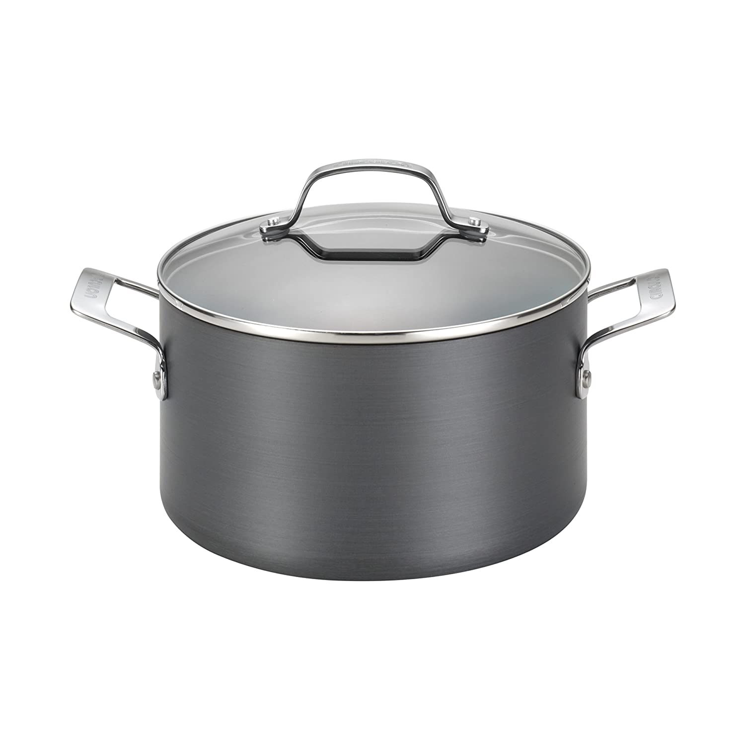 Circulon Genesis Hard-Anodized Nonstick 4.5-Quart Covered Dutch Oven