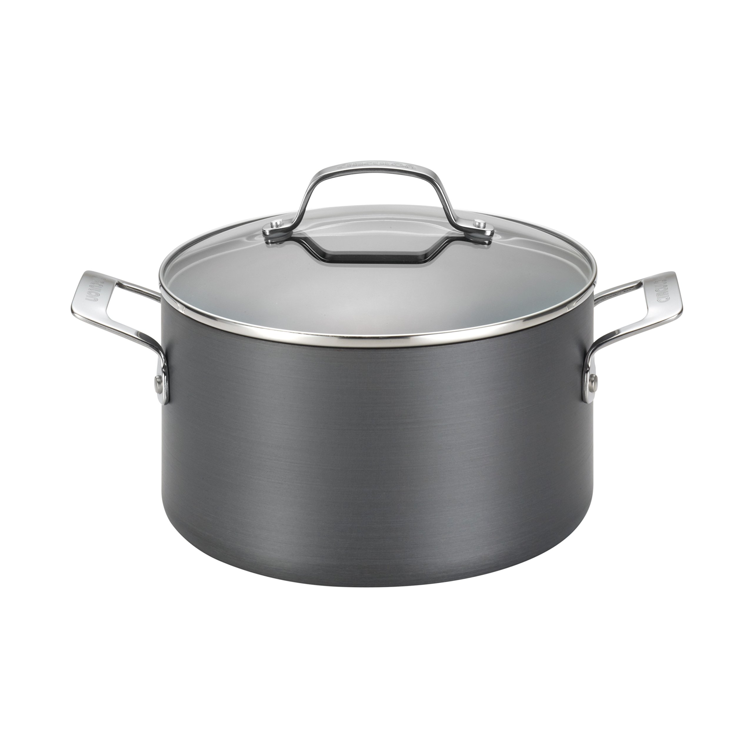 Circulon Genesis Hard-Anodized Nonstick 4-1/2-Quart Covered Dutch Oven