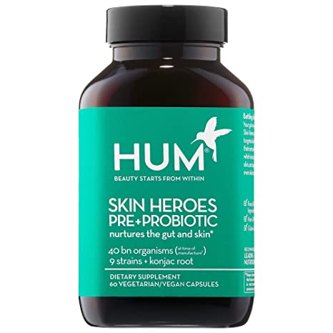Amazon.com: HUM Nutrition Skin Heroes Pre + Probiotic Clear ...